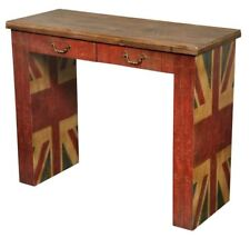 Vintage Union Jack Study Desk or Table