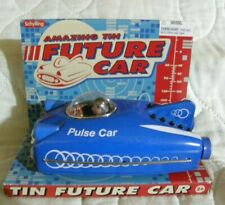 Schylling Friction Future Pulse Car Space Ship Tin Toy 50s Retro Style 2009