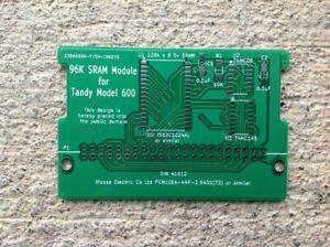 *NEW* 1xPCSTANDY MODEL 600 96KB SRAM expansion PCB