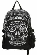 Banned Apparel Rockabilly Punk Sugar Skull Backpack