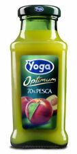 Succhi di Frutta Yoga Magic - Gusto Pesca - in Vetro da 20 cl. (24 Pezzi)