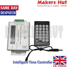 3 Channel 12V/24V Intelligent Light Sensor And Time Programmable Led Controller