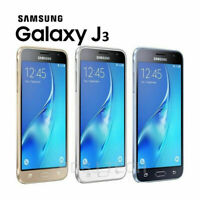SAMSUNG GALAXY J3 2016 WHITE BLACK 8GB UNLOCK SMART PHONE - J320FN - UK Stock