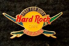 HRC Hard Rock Cafe Osaka Pray for Surf Logo