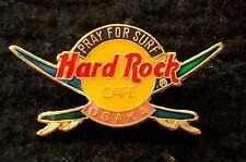 HRC Hard Rock Cafe Osaka Pray for Surf Logo