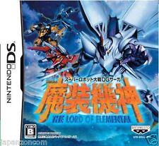 Used DS Super Robot Taisen OG Saga Masou Kishin NINTENDO JAPANESE IMPORT