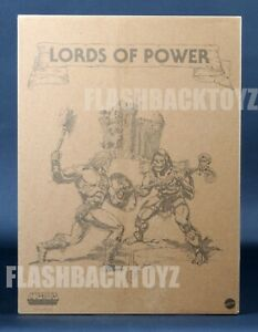 2020 Power Con MOTU Origins Lords of Power 5 Pack Masters of the Universe MISB
