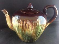 Antique British Art Pottery Dr Christopher Dresser Linthorpe Teapot c1890