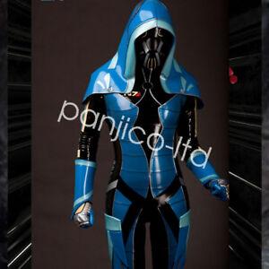 Gummi Latex Rubber Party Suit Uniform Bodysuit Full Body Catsuit SizeXXS-XXL