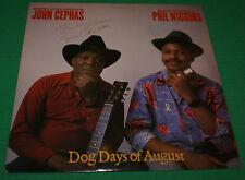 5ab9efa7693e27 Dog Days Of August John Cephas   Phil Wiggins LP 1986 Record autographed  Private