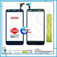 "VETRO TOUCH SCREEN Per Alcatel One Touch Pixi 4 5"" 4G OT-5045D 5045 5045x + BIAD"