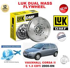 pour Opel Corsa II C 1.3 CDTI DEPUIS 2000 ORIGINAL LUK DMF Volant moteur Bimasse