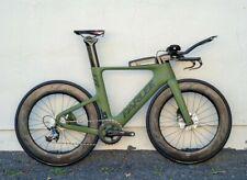 Parlee TTiR Disc Size ML Custom Matte Olive Green TT/Triathlon FRAMESET ONLY