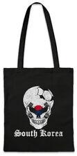 South Korea Football Skull I Shopper Shopping Bag Soccer Flag World
