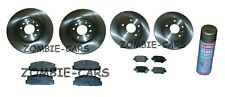 MAZDA 6 1.8 2.0 2.3 02->08 FRONT & REAR BRAKE DISCS AND PADS