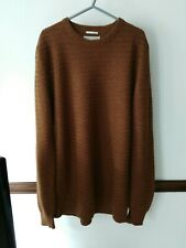 MENS WINTER JUMPER BY KNIT WEAR F&F WOOL BLEND XL