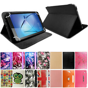 Leather Smart Stand Flip Cover Case For Lenovo Tab M8 M10 P10 E7 E8 E10 Tablets