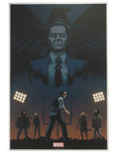 Marvel's Agents Of Shield Lithograph Print Art Of Level 7 by Declan Shavley