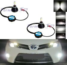 LED Kit G5 48W 893 6000K White Two Bulbs Fog Light Upgrade Replacement Plug Play