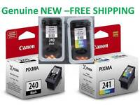 Genuine Canon 240/241 Original Ink Cartridge Combo for MG3620 MG3520 Printer-New