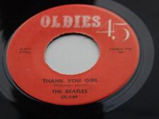 THE BEATLES  ORIG  1964 USA  OLDIES 45  THANK YOU GIRL   DO YOU WANT TO KNOW A