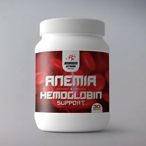 Androgen Extreme Anemia iron deficiency & Hemoglobin support 30 Serving