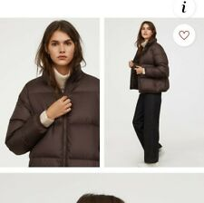 H&M premium Quality brown gets her down jacket size M