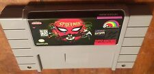 The Amazing Spiderman: Lethal Foes SNES Super Nintendo  Free Shipping