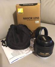Nikon AF-S DX NIKKOR 35mm f/1.8G Lens - Pristine Condition