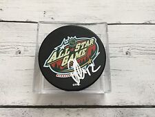 Patrick Marleau Signed 2004 All Star All-Star Hockey Puck Sharks Autographed a