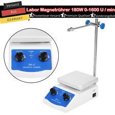 SH-2 Labor Magnetrührer Rührgerät 0-1600 U/min 180W Rührgerät mit Heizplatte HOT