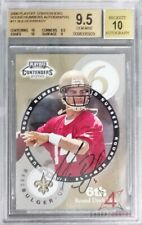 2000 PLAYOFF CONTENDERS ROUND NUMBERS AUTOGRAPH #11 TOM BRADY RC BGS 9.5 AUTO 10