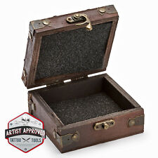 Wooden Tattoo Machine Storage Box - Tattoo Equipment