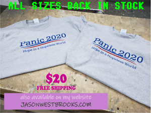 WIDESPREAD PANIC 2020 CAMPAIGN T-SHIRT