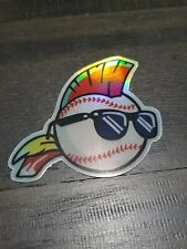 LIMITED Wild Thing Holographic STICKER - Major League Cleveland Indians Baseball