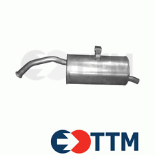 TOYOTA STARLET 1.3 75HP 1996-1999 Exhaust Rear Silencer