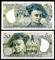 FRANCE 50 FRANCS 1978 P 152 AUNC SEE SCAN