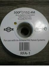 PetSafe Extra In-Ground Fence Boundary Wire 500 Feet New INVISIBLE FENCE WIRE