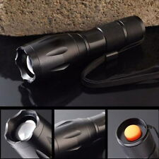 2200LM CREE XML T6 10W LED Zoomable 18650 Flashlight Adjustable Torch Light Lamp