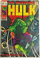 INCREDIBLE HULK#111 VG 1969 MARVEL SILVER AGE COMICS