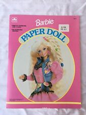 Vintage 1992 Barbie Paper Doll Cut Outs Book