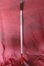 """Amazing & Unique Vintage """"Sight Impaired"""" Sterling Fitted Walking Stick"""