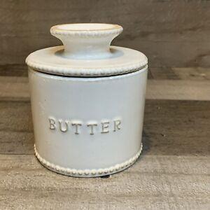 Hearth And Hand Magnolia Stoneware Butter Crock/Boat