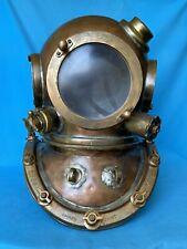 Antique Maritime Deep Sea Diving Helmet Morse Divers Scuba Vintage 1960 Nautical