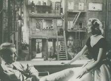GRACE KELLY JAMES STEWART REAR WINDOW 1954 PHOTO ORIGINAL ALFRED HITCHCOCK