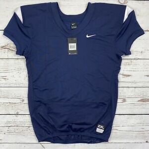 Nike Vapor Pro On Field Men's XXL Navy Blue Football Jersey 845929-420