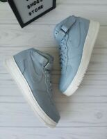 SIZE 15 MEN'S NIKE AIR FORCE 1 MID LIGHT BLUE / 905619-400 BASKETBALL SNEAKERS