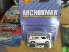 HOTWHEELS RETRO ANCHORMAN 77 CUSTOM DODGE VAN ALLOYS AND REAL RUBBER TYRES
