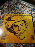 Merle haggard I love Dixie Blues 1973 and The very best of Hank Williams 1963 lp