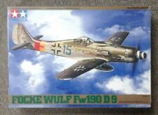 Tamiya 1/48 Folke Wulf Fw190 D9 model airplane kit # 61041